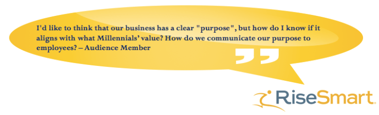 Question #1 from Audience RiseSmart Webinar