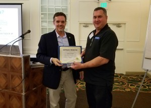 PICA Conference Scott Alvord Awarded Membership and Plaque