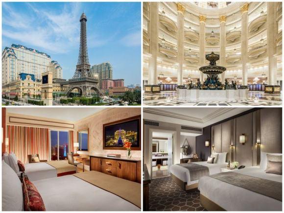 2021澳門飯店推薦 - 澳門巴黎人酒店