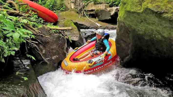 峇里島水上活動 - 峽谷漂流
