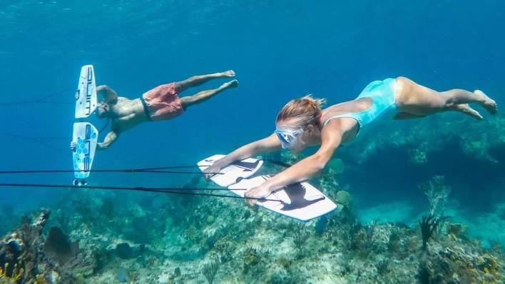 峇里島水上活動 - 水底飛翼