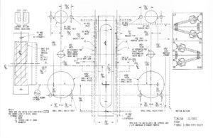 Simplex 5000 Series – Mortise Template