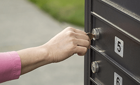 mailbox lock opening replacement Silver Spring Maryland