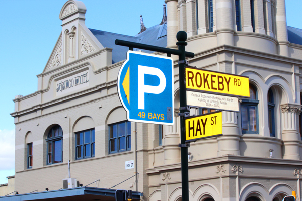 Subiaco Hay St and Rokeby Road