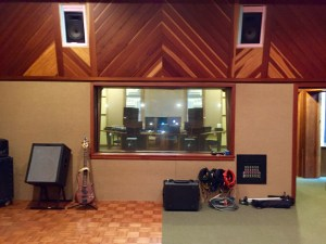 Recording Studio Live Room Speaker Playback