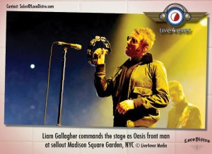 Liam Gallagher commands the stage...
