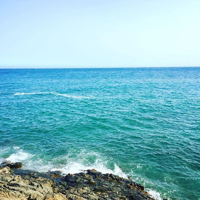 Infinity. Gran Canaria #Ocean #Cliff #sunny #hot