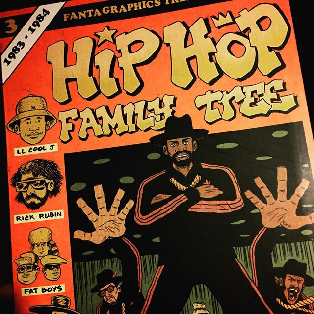 Let's get it on with volume three #hiphopfamilytree #edpiskor #graphicnovel #hiphop #culture #eachoneteachone #comic #entertainment #history