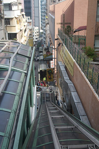 Mid-level escalator