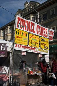 Neighborhood street fair