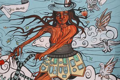Mural in SFO