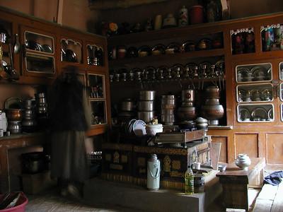 Traditional Ladakhi kitchen