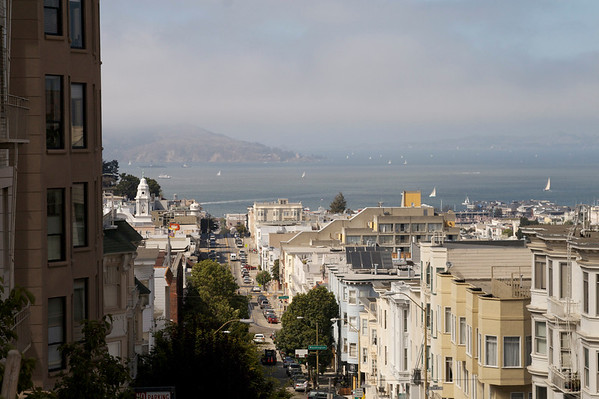 Nob Hill - San Franciscos posh neighborhood