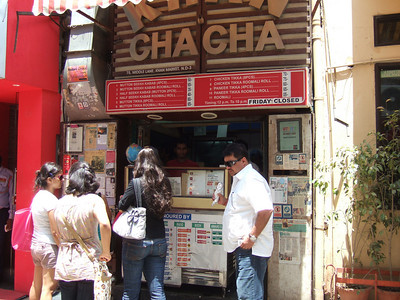 Khan Chacha at Delhis Khan market