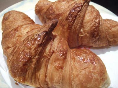 Croissant at Le Parisiene