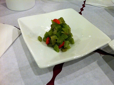 Crunchy vegetables with Goji berries