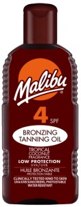 SPF4 Tanning Oil available on LocoSoco