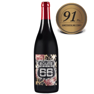 Route 66 - Pinot Noir - Officially Licensed ROUTE 66 Pinot Noir IGP Tony Moore's Signature Collection 91pts - Available on LocoSoco