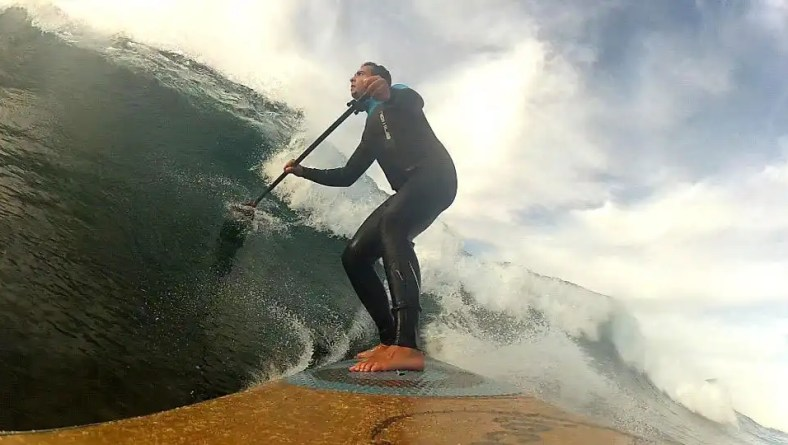 Top 5 'off the lip' Stand Up Paddle Surfing Moves
