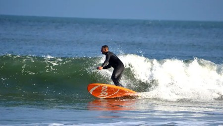 Can flat water SUP training promote paddle surfing success?