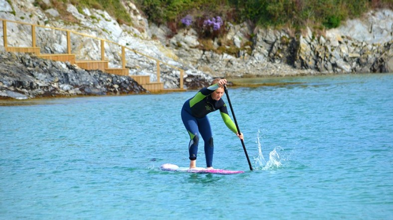 finn-getting-used-to-7'2''-on-flat-water