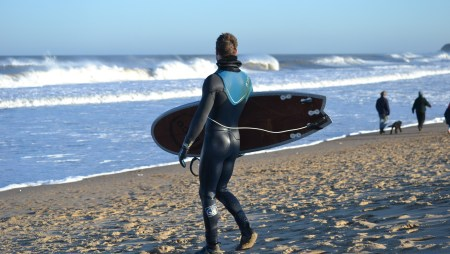 "Adam Rides Our 5'4"" Loco Magic Whale Surfboard"