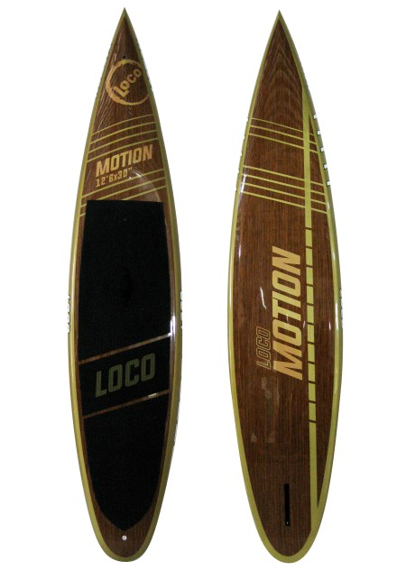 "2017 12'6"" Loco Motion Touring Board SUP Paddle Board"