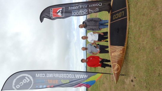 Neil Craig Wins Scottish SUP Nationals on 12'6'' Loco Motion