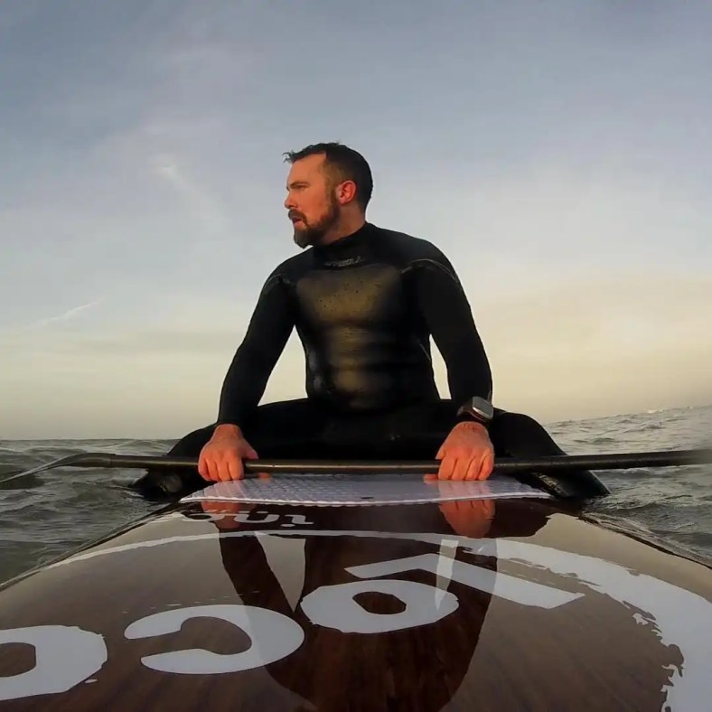 Phil on Loco 10' Inca SUP