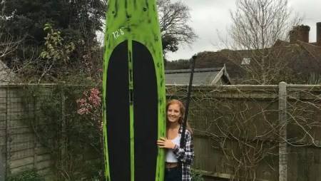 Lella Heathcote joins to the Loco SUP Race Team