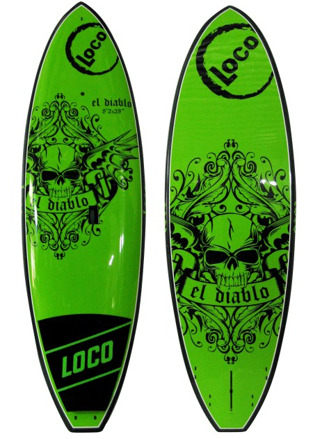 2017 Loco El Diablo Surf SUP Paddle Board