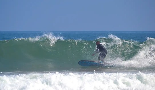 bottom turn Loco Aztec Surf SUP