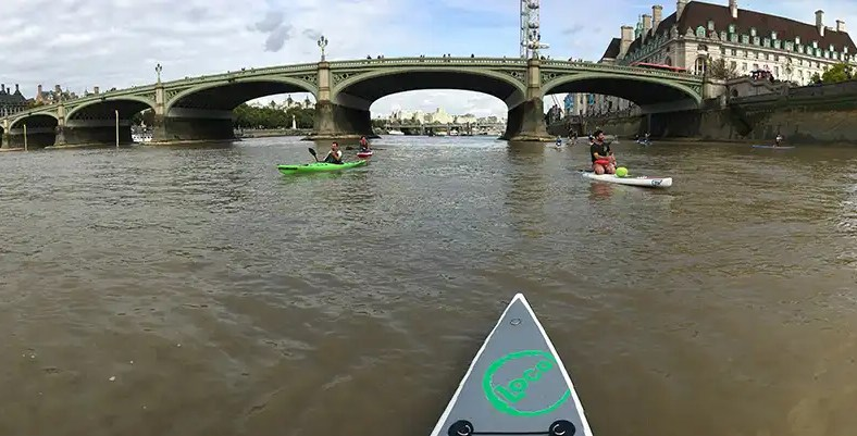 Loco At The Big Ben SUP Challenge 2017