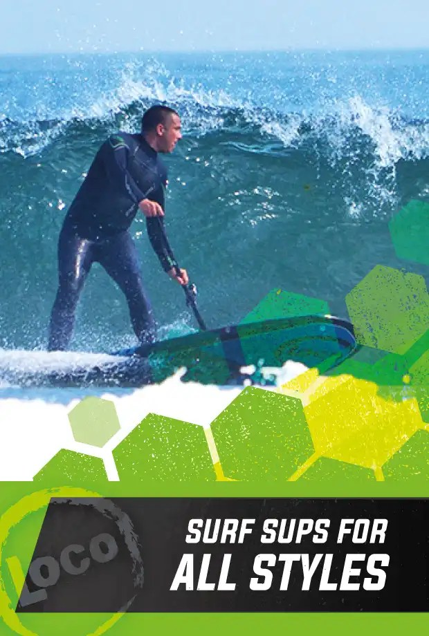 Loco Surfing Hard Amp Inflatable Stand Up Paddle Boards