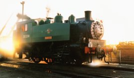 Kent and East Sussex Railway (1996) - Rolvenden - USA Tank DS238 Wainwright