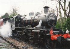 004 - Isfield - Lavender line - Ivatt 2MT 46443