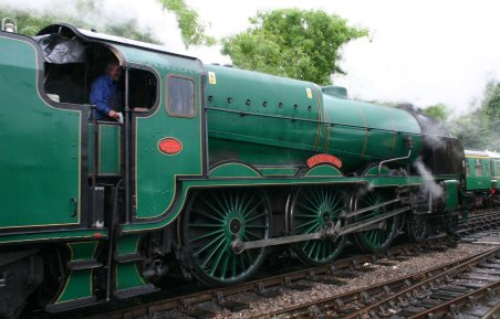 Watercress Line - Alresford - 850 Lord Nelson