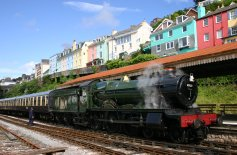 Paignton and Dartmouth Railway - Kingswear - 4936 Kinlet Hall