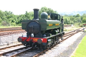 2012 - South Devon Railway - Totnes Littlehempsted - Pannier 1369