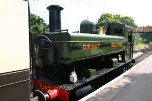 South Devon Railway (Buckfastleigh) GWR Pannier Tank 1366 class 1369 (3)