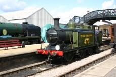 Bluebell Railway - Sheffield Park - LBSCR E4 class B473 (Birch Grove)