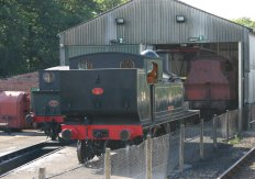 Isle of Wight Steam Railway - Havenstreet - W24 Calbourne
