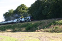 Watercress Railway - Bighton Lane - Schools Class V - 925 Cheltenham & 850 Lord Nelson