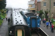Ropley - LNER classes - A4 - 4492 Dominion of New Zealand & A1 - 60163 Tornado