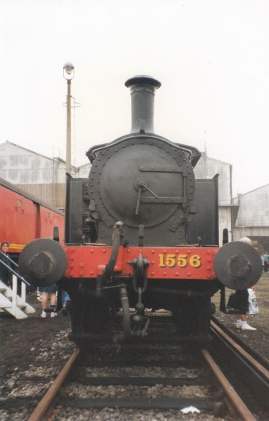 Ashford Open Day 1992 - SR ex-SECR P Class 1556