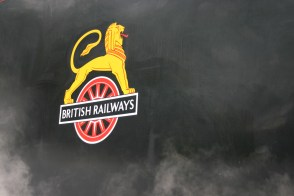 2009 - North Yorkshire Moors Railway - Goathland - 45407 The Lancashire Fusilier BR lion