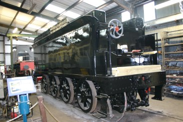 2010 - Bodmin and Wenford Railway - Bodmin General - Ex-LSWR T9 class - 30120 (8 wheel tender)
