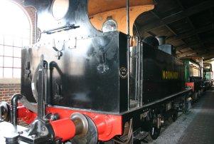 2011 - Bluebell Railway - Sheffield Park - LSWR B4 - 96 Normandy (back)
