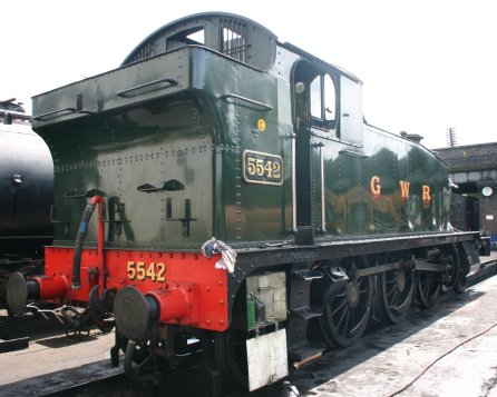 2011 - Great Central Railway - Loughborough - GWR Prairie 4575 tank - 5542 (bunker)