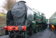2012 - Watercress Line - Ropley - SR 850 Lord Nelson